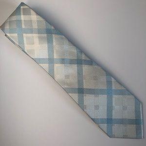 Express For Men Necktie NWT Plaid Tartan 100% Silk